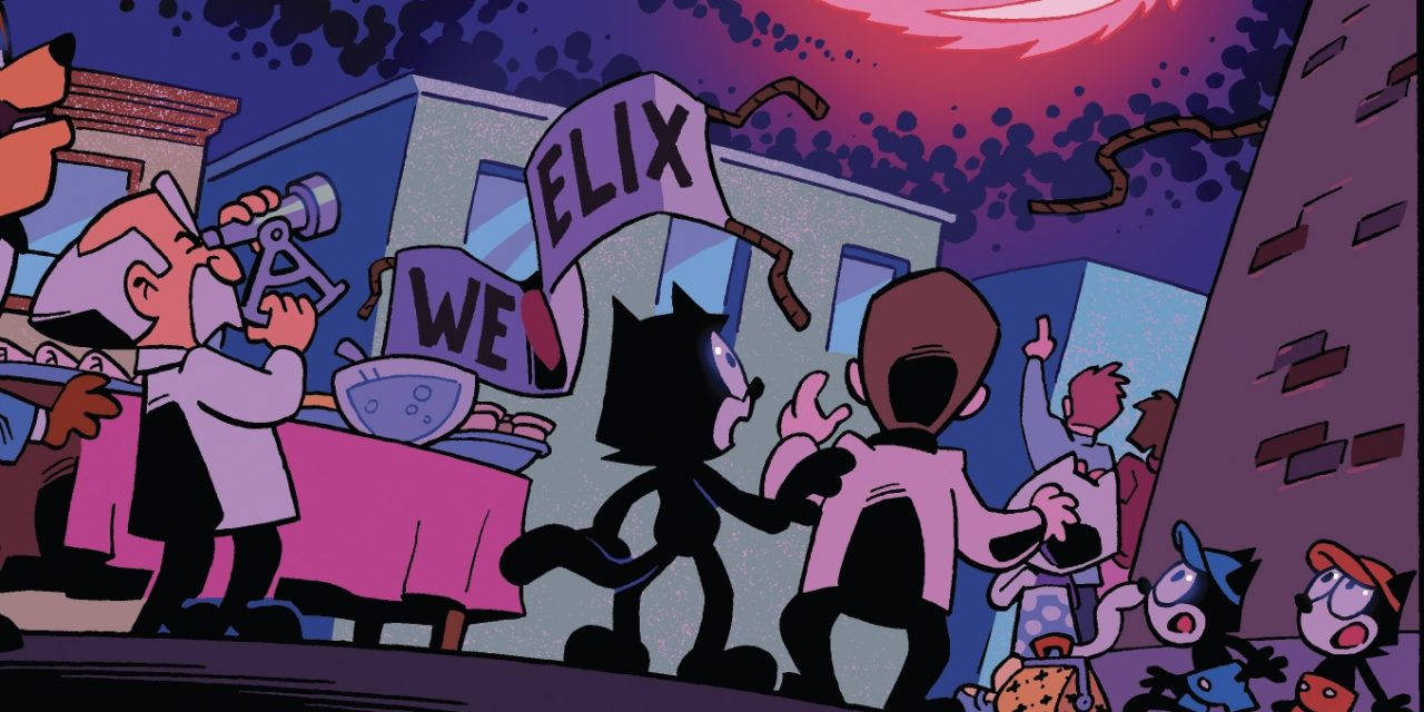 Felix the Cat launches new comic series from Source Point Press and DreamWorks<br>Animation
