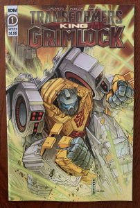 indie comic reviews, REVIEW: Transformers: King Grimlock #1, The Indie Comix Dispatch