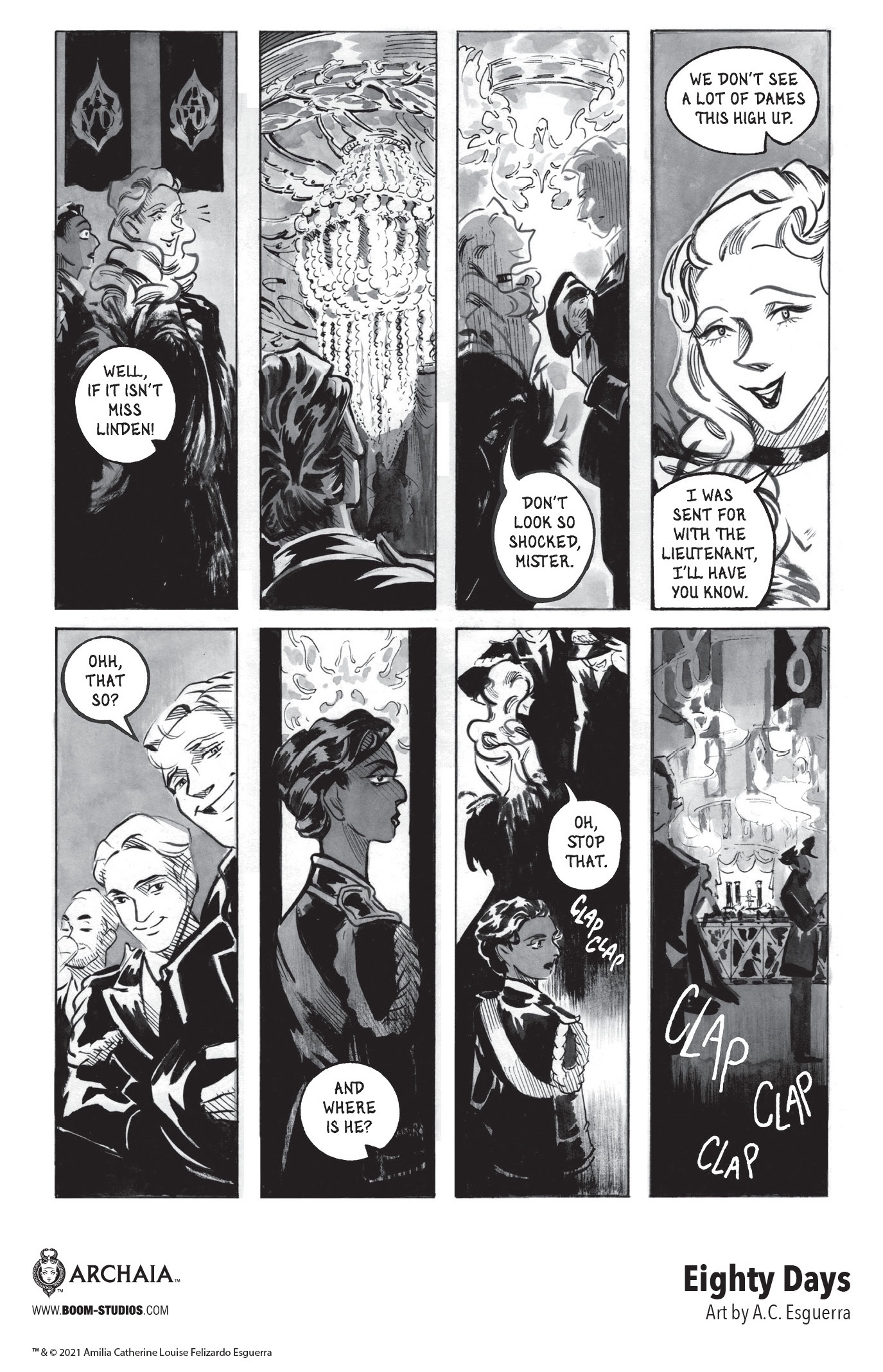 , Navigate Shifting Allegiances in A.C. Esguerra's EIGHTY DAYS, The Indie Comix Dispatch
