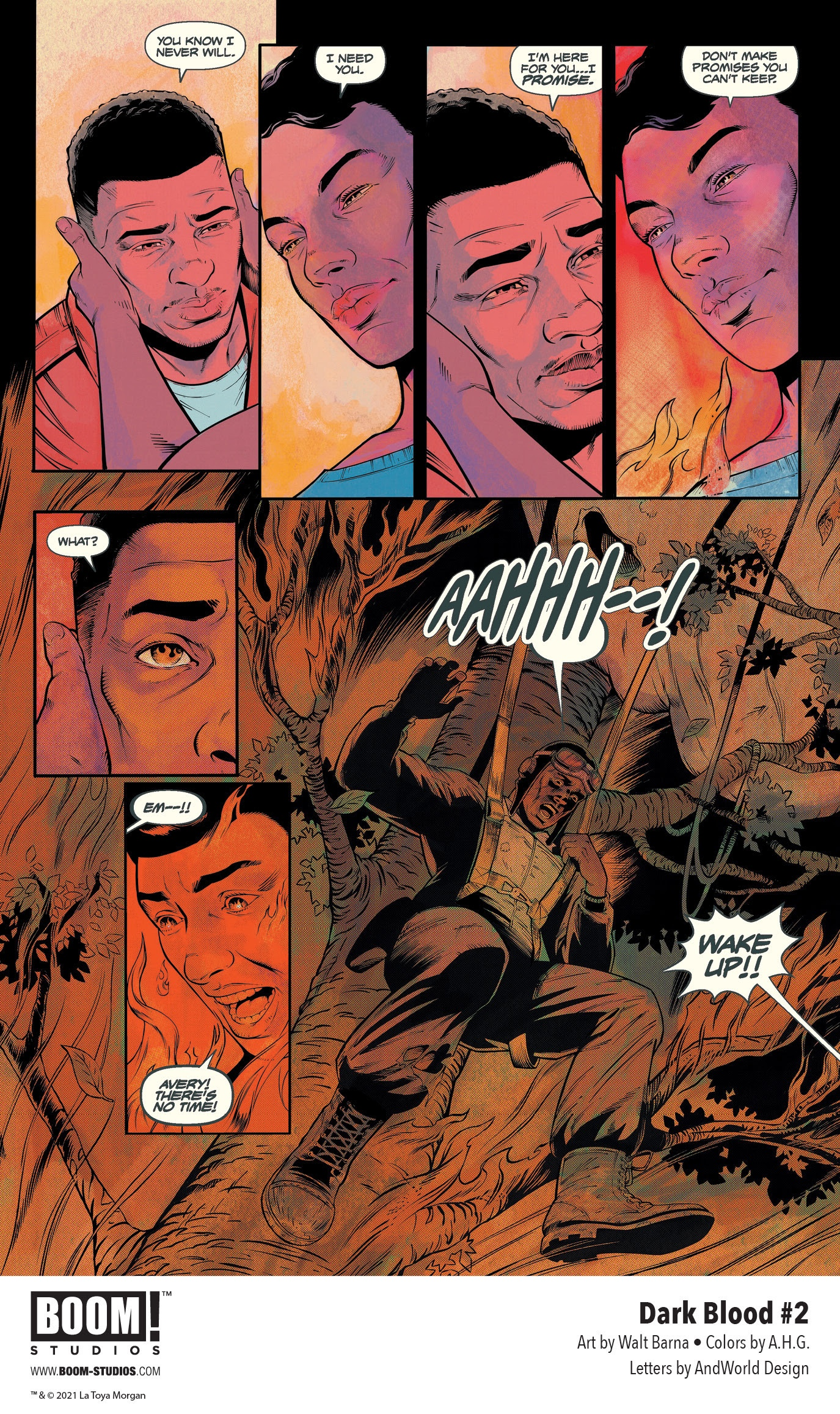 , First Look: LaToya Morgan's DARK BLOOD #2, The Indie Comix Dispatch