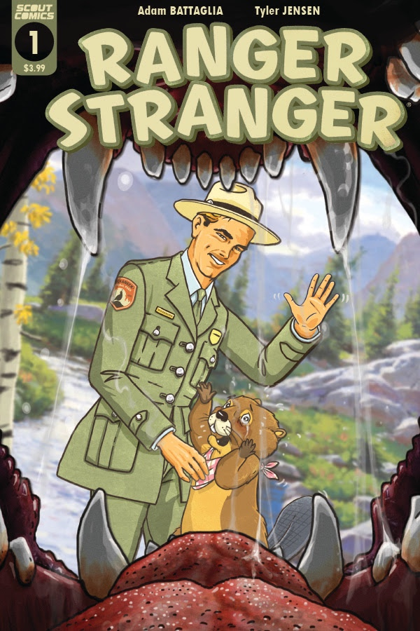 , Scout Comics to Publish Fan-Favorite Webcomic RANGER STRANGER This November, The Indie Comix Dispatch