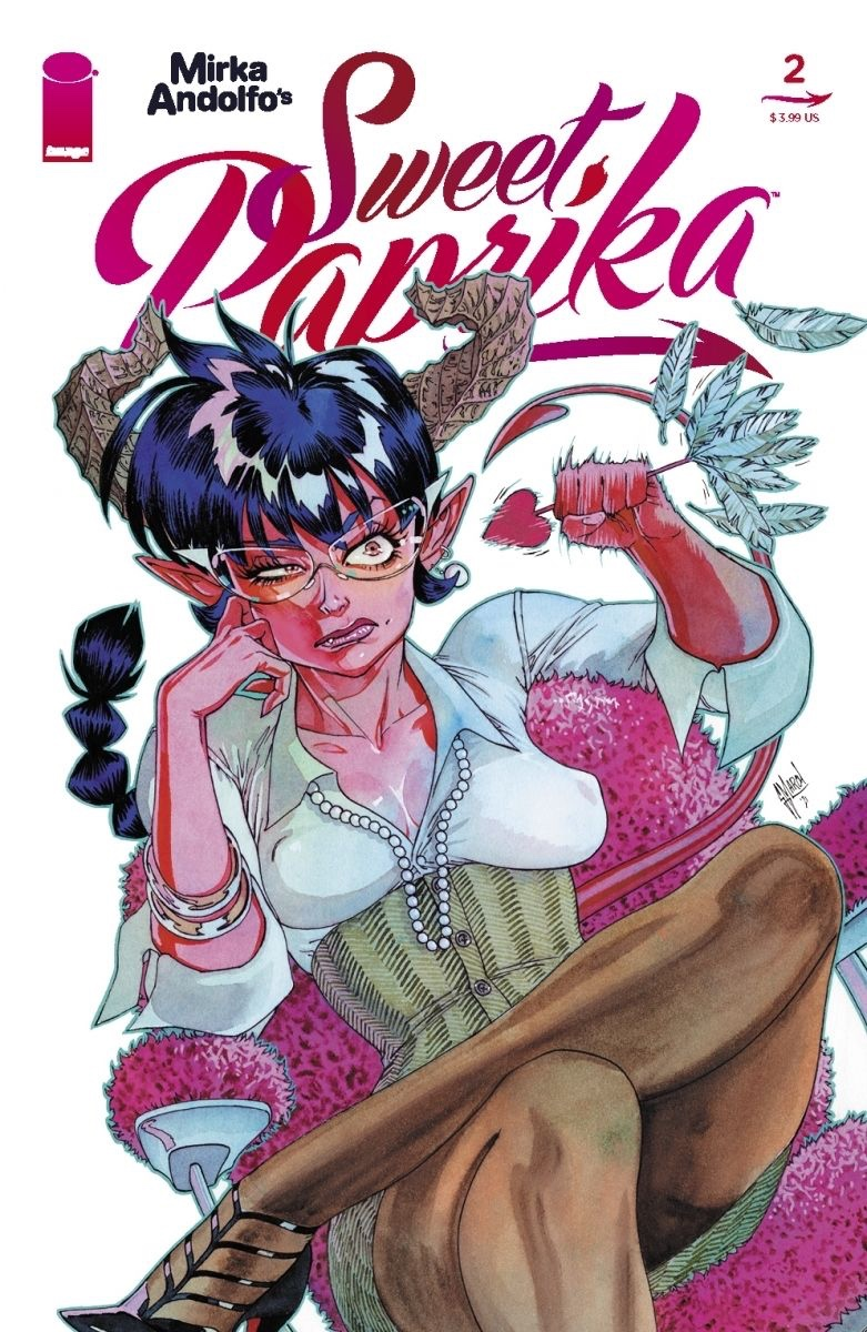 , MIRKA ANDOLFO'S SWEET PAPRIKA #2 TEASES VARIANT COVERS TO SPICE UP SEPTEMBER, The Indie Comix Dispatch