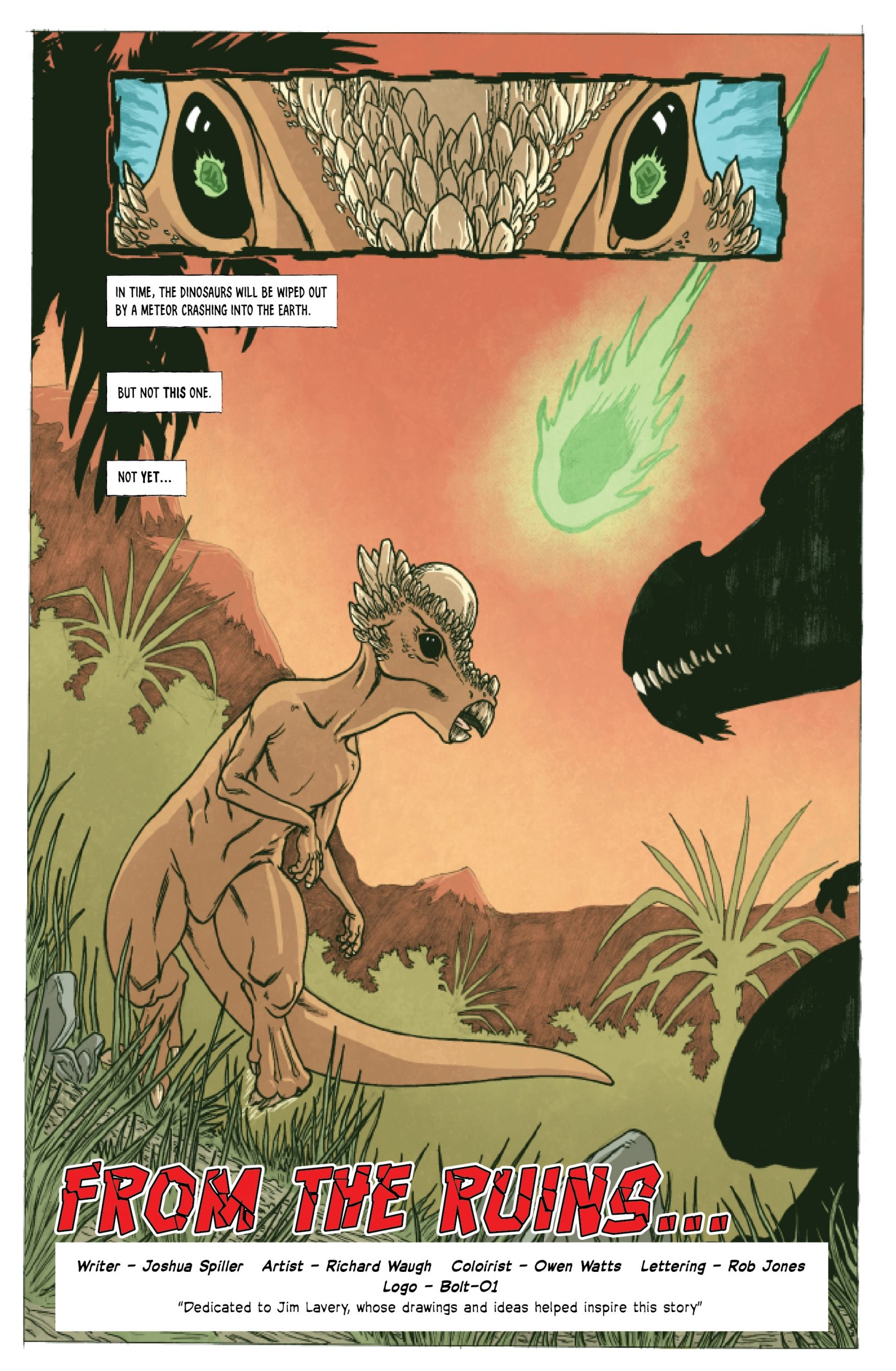 , KICKSTARTER-EXCLUSIVE COMIC 'SINAVORE #1' – ONLY £2 (INC. UK DELIVERY), The Indie Comix Dispatch