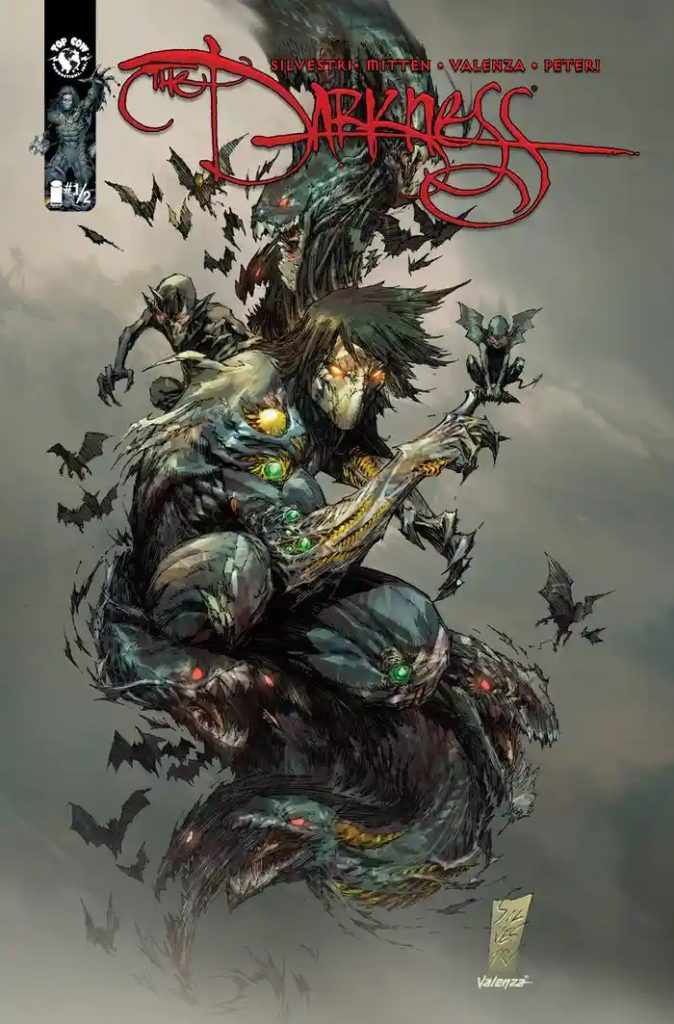 , TOP COW KICKSTARTER REBOOTS THE DARKNESS WITH EXCLUSIVE #½ ISSUE, The Indie Comix Dispatch