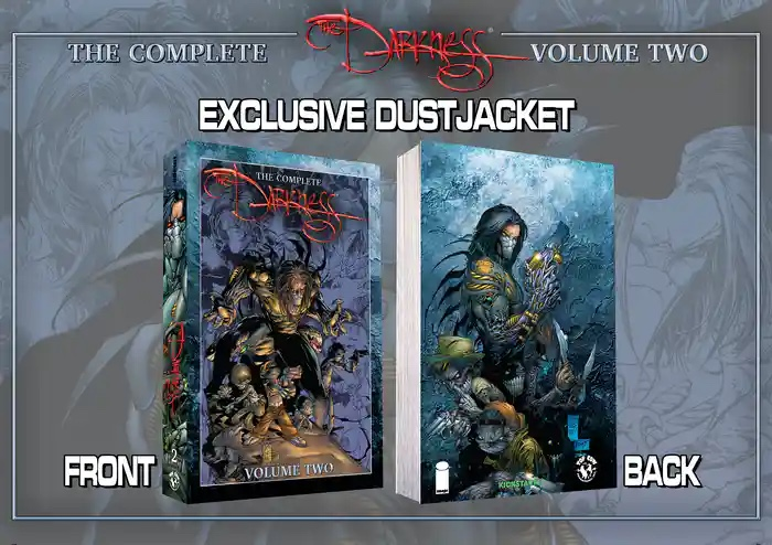 TOP COW KICKSTARTER REBOOTS THE DARKNESS WITH EXCLUSIVE #½ ISSUE