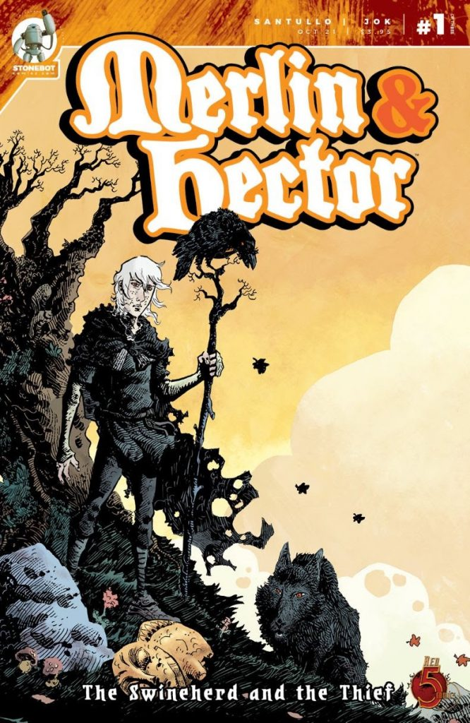 , Before Arthur, before Camelot, before Excalibur there was … MERLIN & HECTOR!, The Indie Comix Dispatch