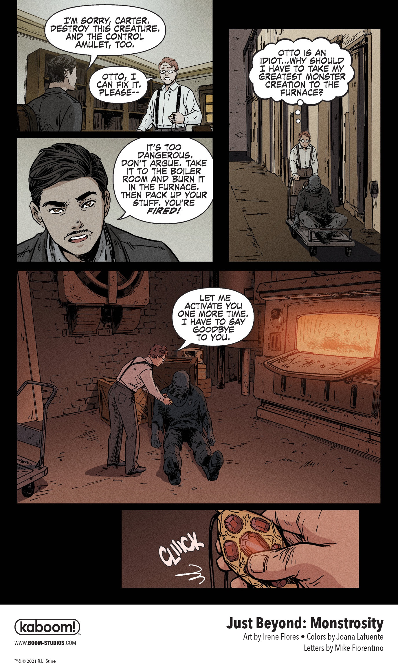 , Movie Horror Becomes Real in R.L. Stine's JUST BEYOND: MONSTROSITY, The Indie Comix Dispatch