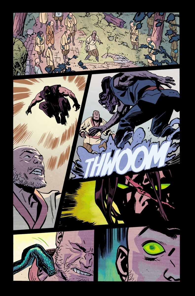 , FIRE VERSUS (WHY DID IT HAVE TO BE) SNAKES IN FIRE POWER BY KIRKMAN & SAMNEE #15, The Indie Comix Dispatch
