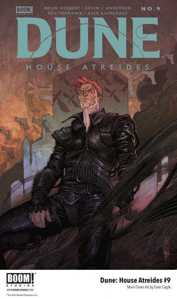 , Power, Lies, & Corruption in DUNE: HOUSE ATREIDES #9, The Indie Comix Dispatch