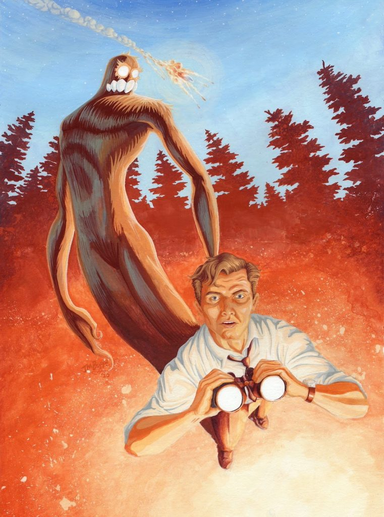 , Aliens and Bigfoot collide in Roz and the Big Man, The Indie Comix Dispatch