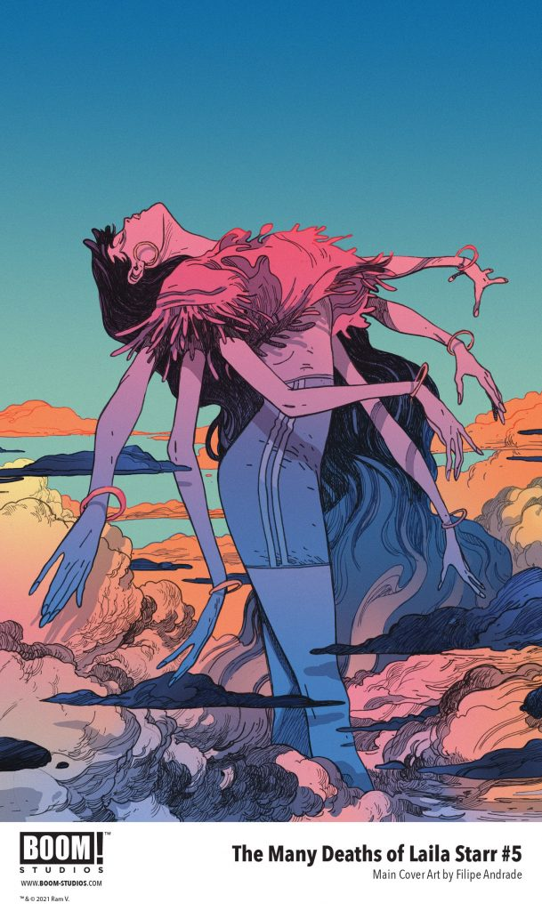 , The Choice Between Death or Immortality in THE MANY DEATHS OF LAILA STARR Series Finale, The Indie Comix Dispatch