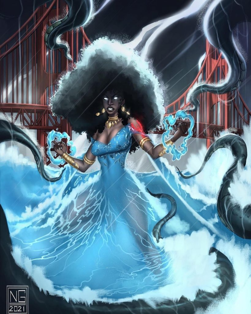 , Her Returns in Sequel Novel, Gods and Monsters, The Indie Comix Dispatch