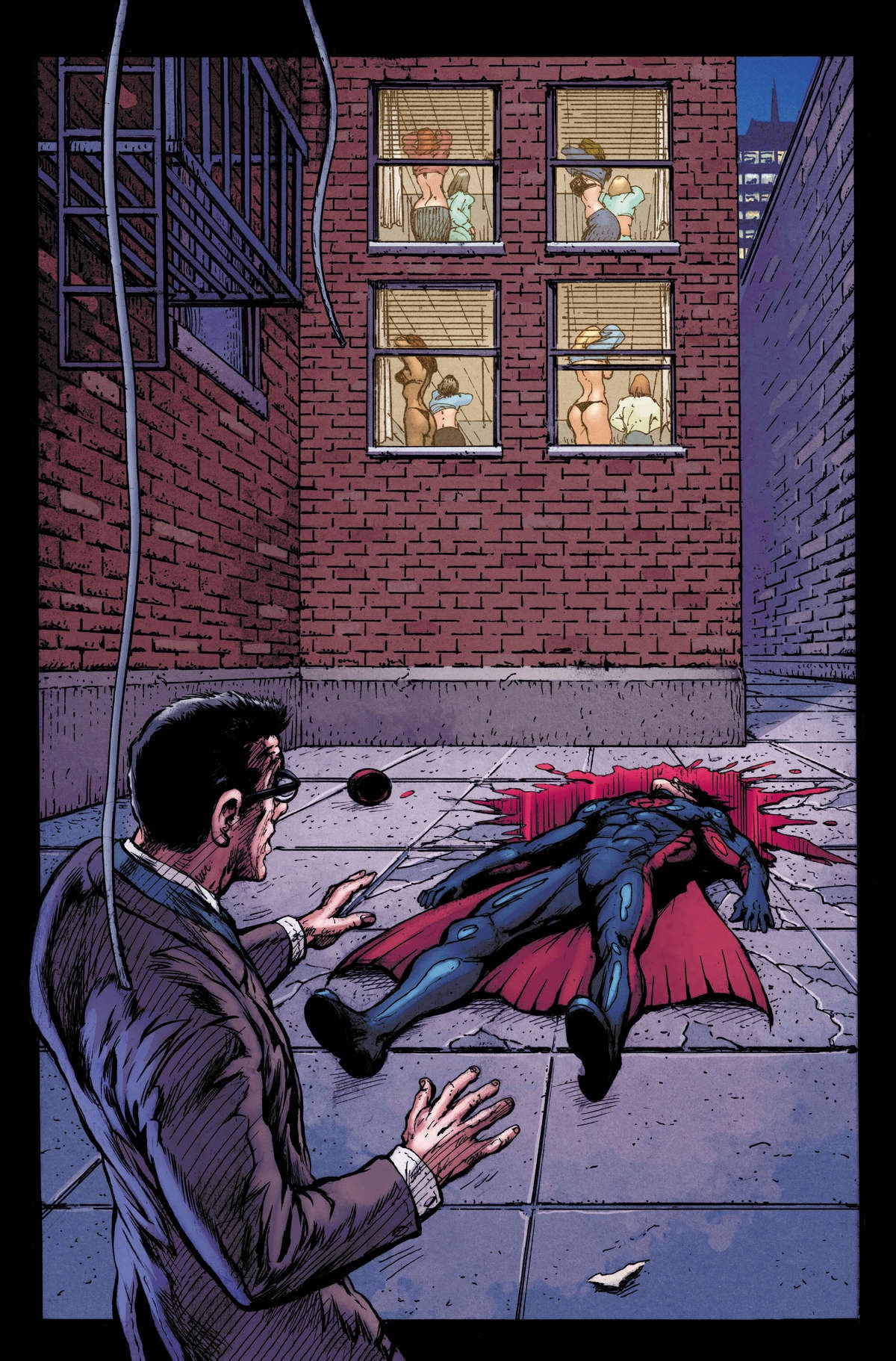, AWA Studios/Upshot Studios Announces New Series: KNIGHTED by Gregg Hurwitz and Mark Texeira, The Indie Comix Dispatch
