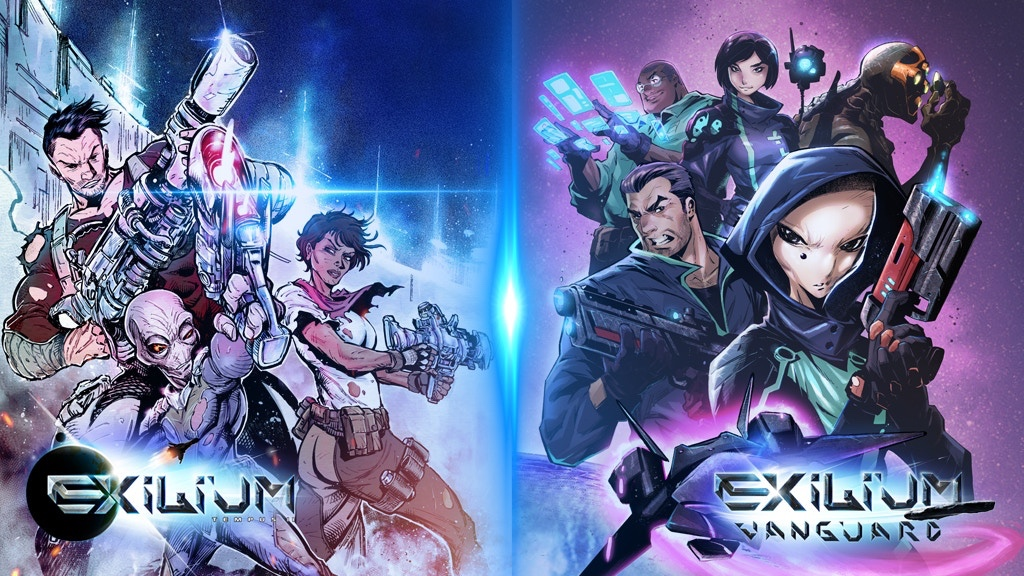 Immersive Sci-Fi Action Series 'Exilium' returns to Kickstarter