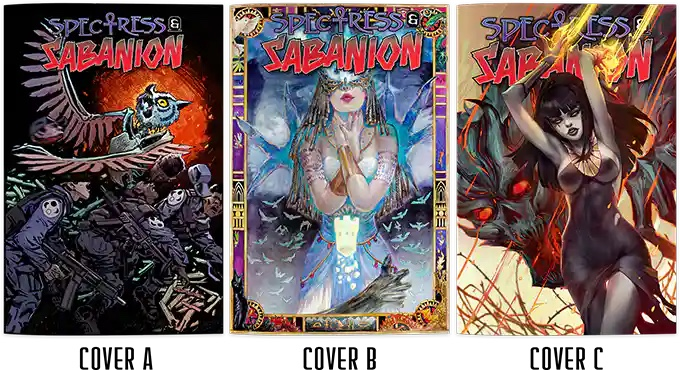 , The Supernatural Cannot Be Contained in Spectress & Sabanion – Issue #3, The Indie Comix Dispatch