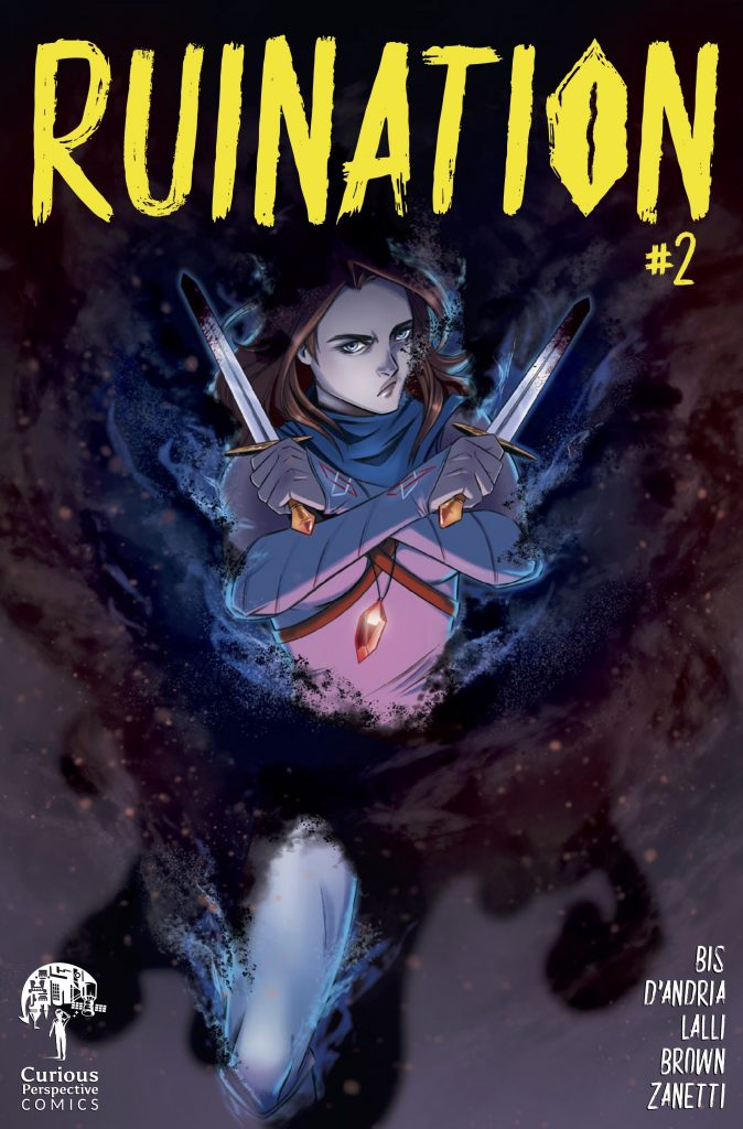 , HIT SERIES RUINATION RETURNS TO KICKSTARTER SEPTEMBER 14th, The Indie Comix Dispatch