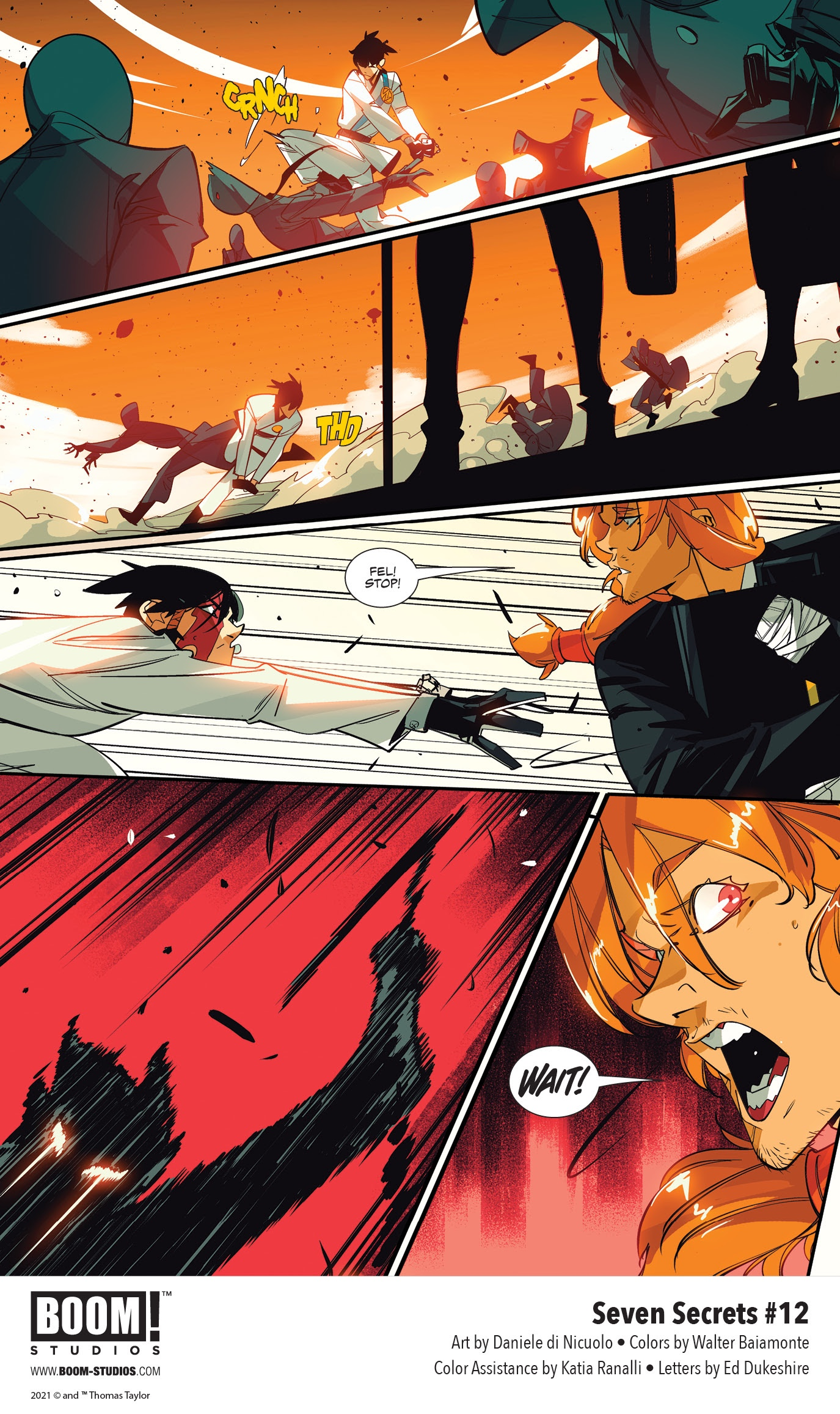 , Eva's Dangerous Discovery Changes Everything in SEVEN SECRETS #12, The Indie Comix Dispatch
