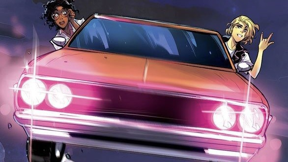 A CHAOTIC ROAD TRIP & DIABOLICAL PLOT COLLIDE IN NEW SERIES A THING CALLED TRUTH