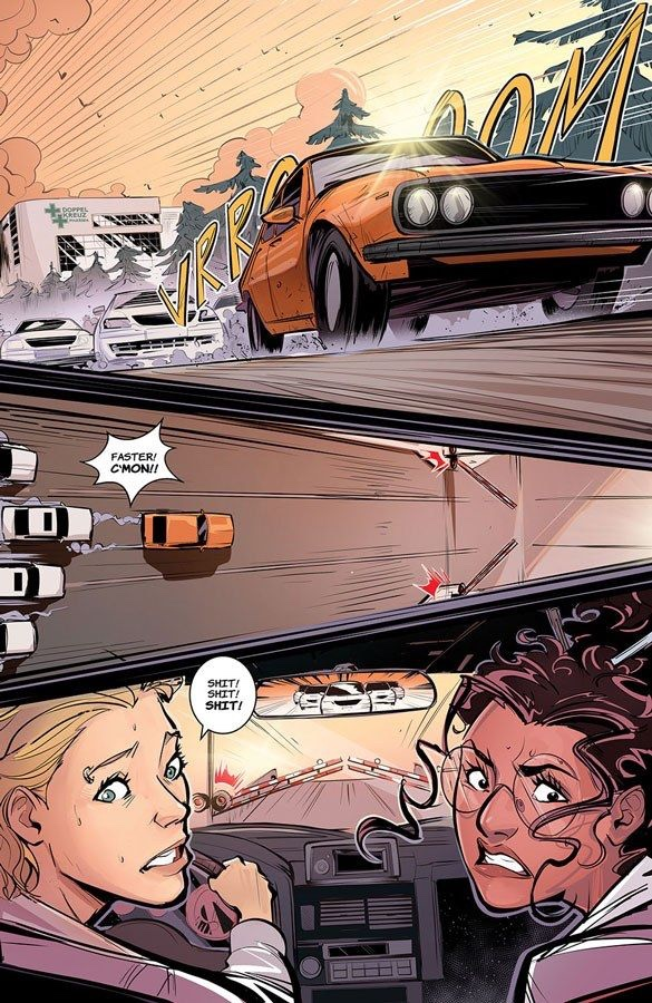 , A CHAOTIC ROAD TRIP & DIABOLICAL PLOT COLLIDE IN NEW SERIES A THING CALLED TRUTH, The Indie Comix Dispatch