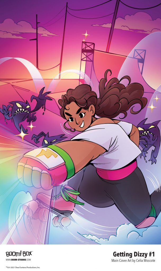 , Shea Fontana and Celia Moscote are GETTING DIZZY with BOOM! Studios, The Indie Comix Dispatch