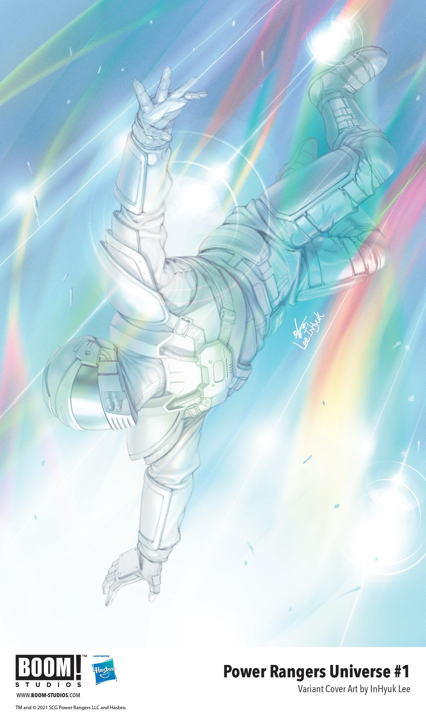 , BOOM! Studios Announces Pivotal POWER RANGERS UNIVERSE Event Series, The Indie Comix Dispatch