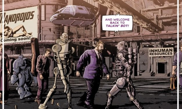 REVIEW: Not All Robots #1