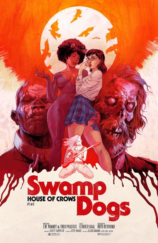 , Scout Comics Imprint Black Caravan Lets The SWAMP DOGS Out, The Indie Comix Dispatch