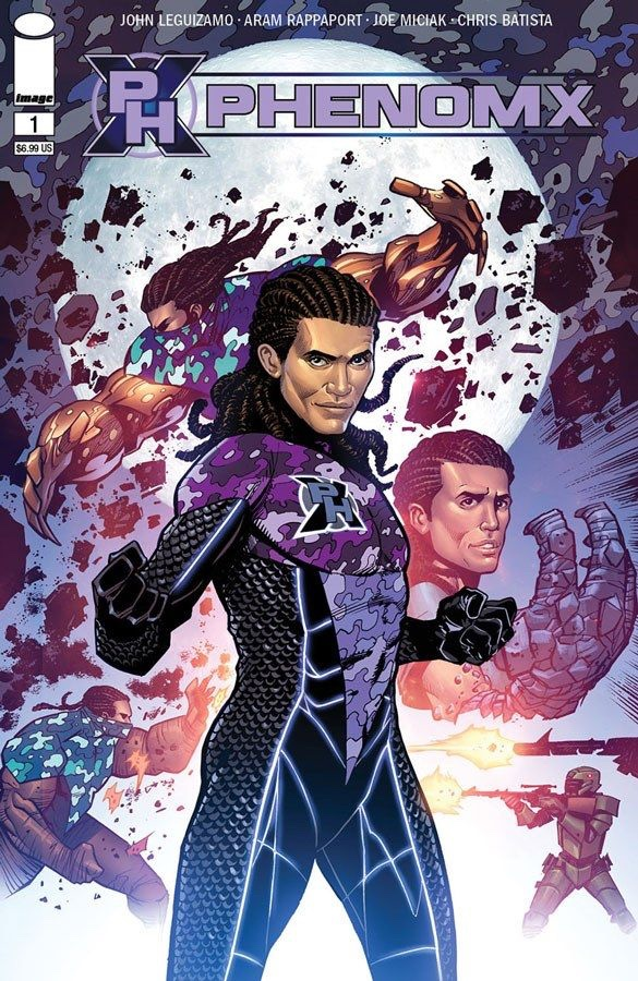 , JOHN LEGUIZAMO TEAMS UP WITH TODD MCFARLANE TO LAUNCH THE NEW SUPERHERO COMIC PHENOMX, The Indie Comix Dispatch