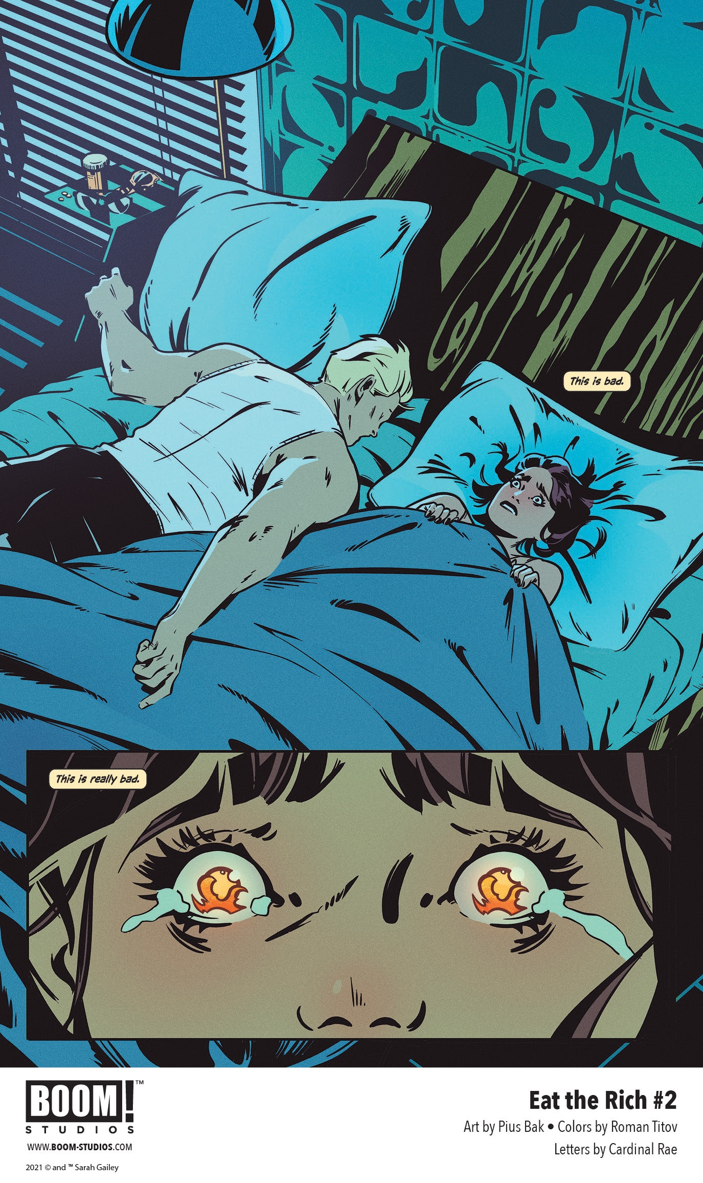 , FIRST LOOK: EAT THE RICH #2, The Indie Comix Dispatch