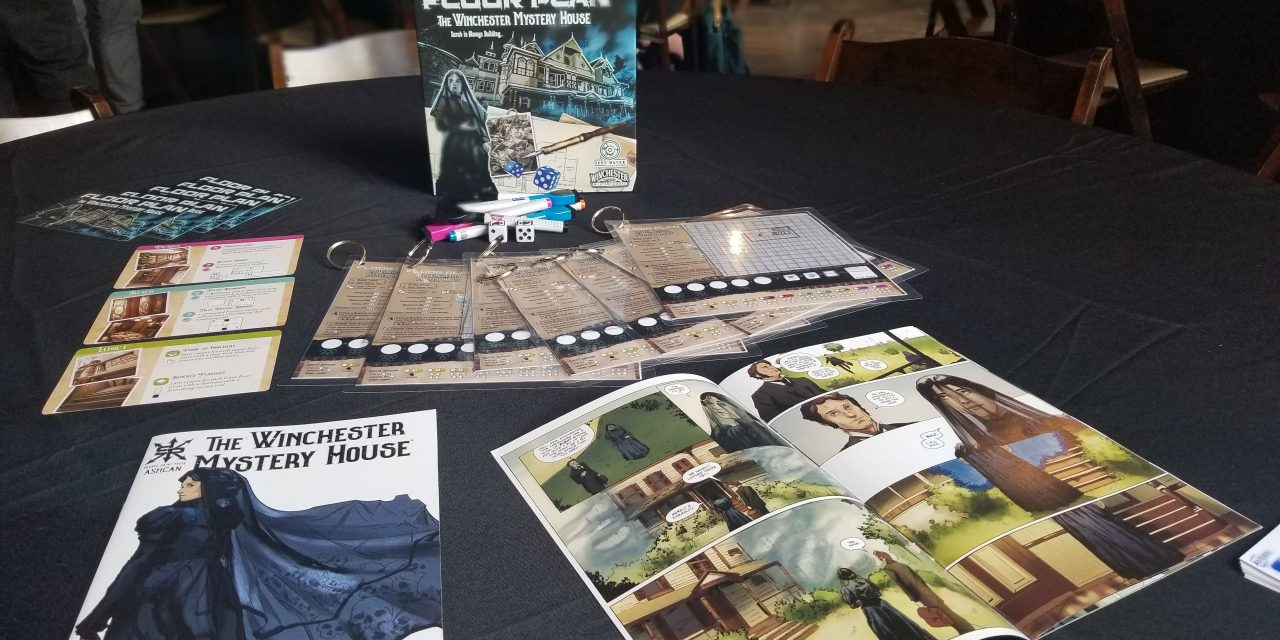 Independent Comic, Winchester Mystery House®, Comes to Life in a New Board Game