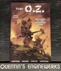 , REVIEW: The O.Z. #1, The Indie Comix Dispatch