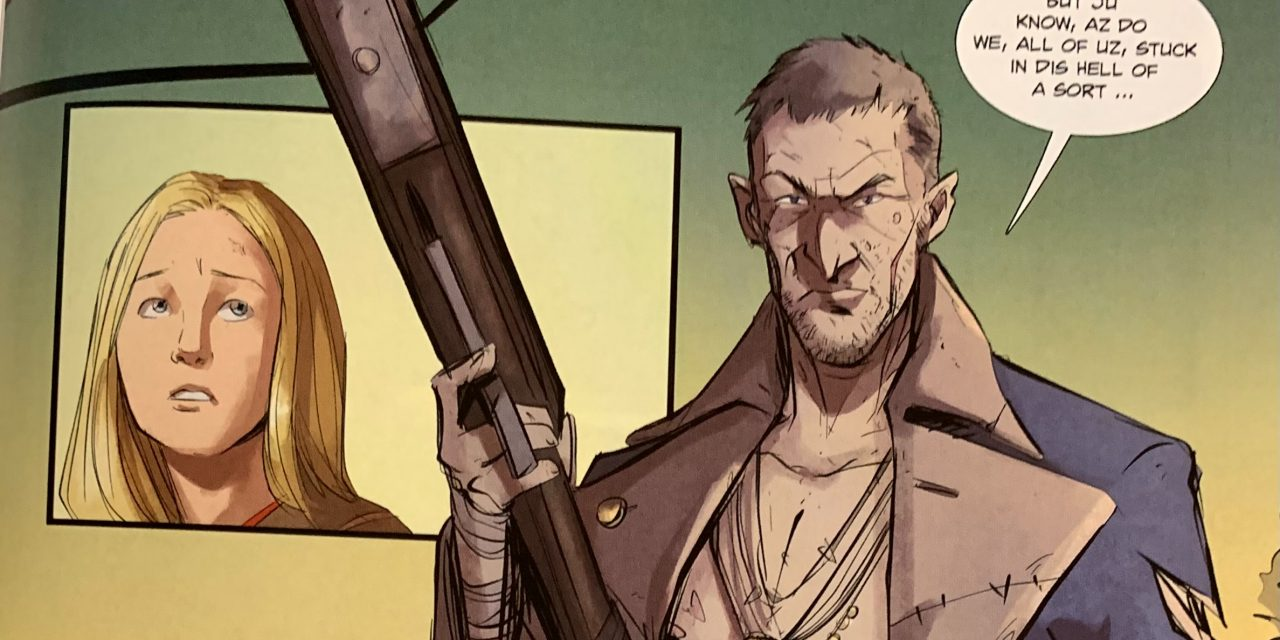 REVIEW: Never Never #3