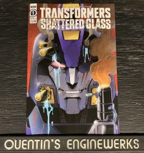 , REVIEW: Transformers: Shattered Glass #1, The Indie Comix Dispatch