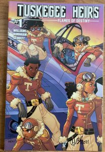 , REVIEW: Tuskegee Heirs: Flames of Destiny, The Indie Comix Dispatch