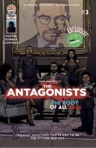 , REVIEW: The Antagonists #3 – Blackout, The Indie Comix Dispatch