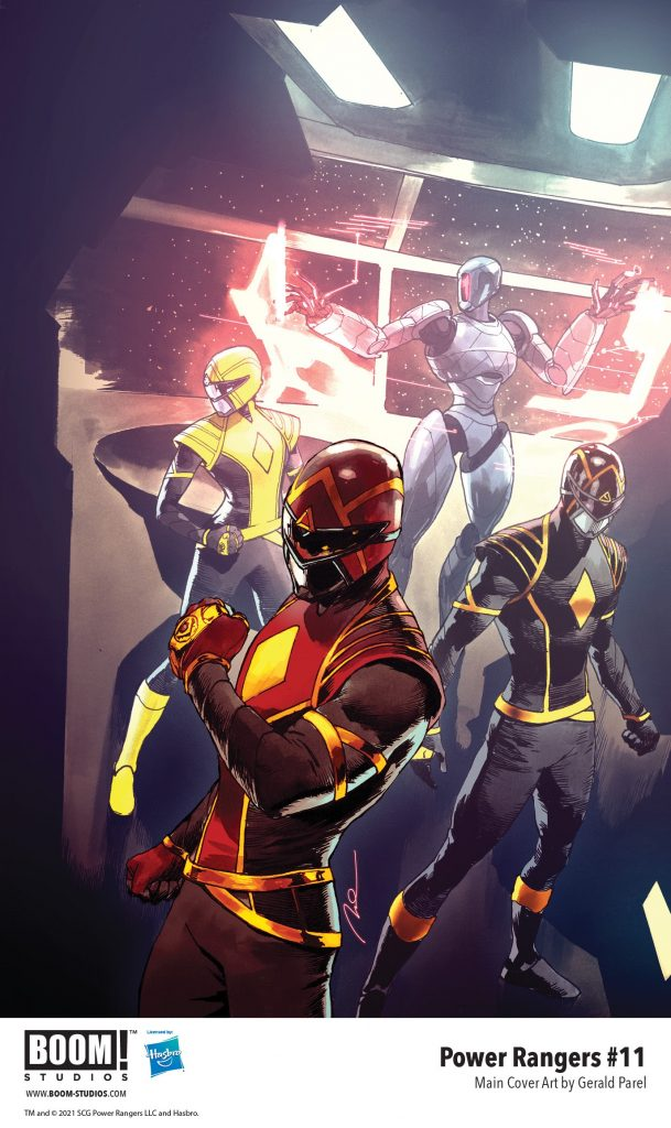 , Your First Look at POWER RANGERS #11, The Indie Comix Dispatch