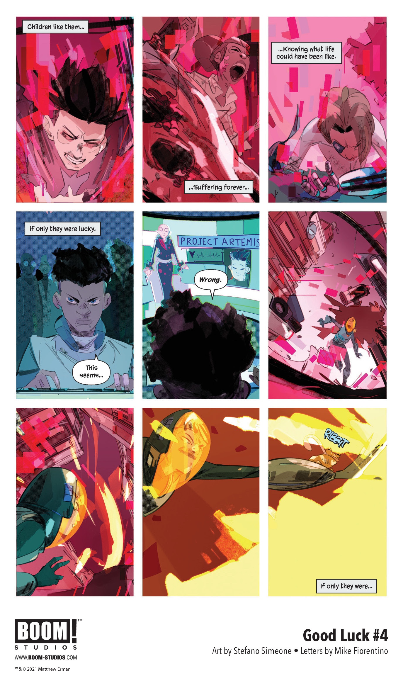 , FIRST LOOK: GOOD LUCK #4, The Indie Comix Dispatch