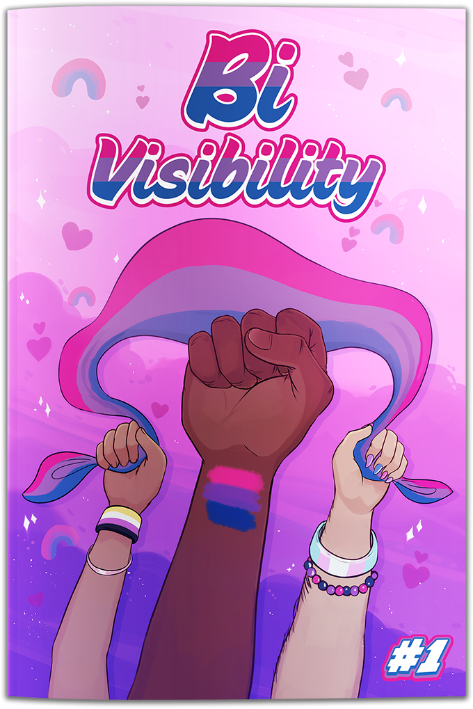 , Kathryn Calamia Launches Bi Visibility: A Bisexual Comic Book Anthology on Kickstarter, The Indie Comix Dispatch