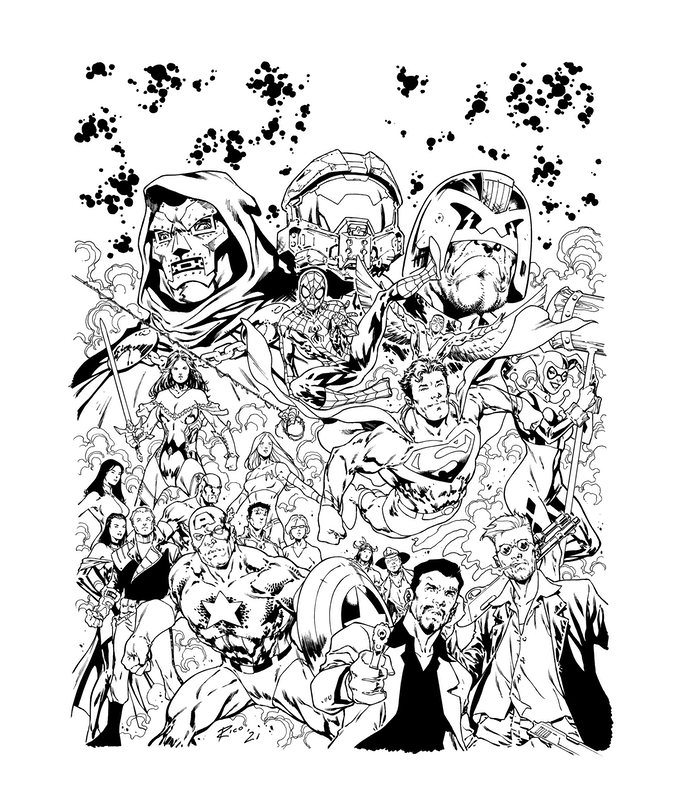 , The Art of Ian Richardson is now LIVE on Kickstarter, The Indie Comix Dispatch