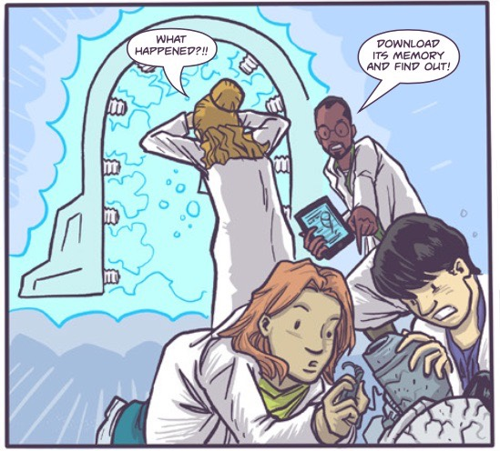 , Glamorella's Daughter Continues to Soar with Issue 3 Kickstarter, The Indie Comix Dispatch