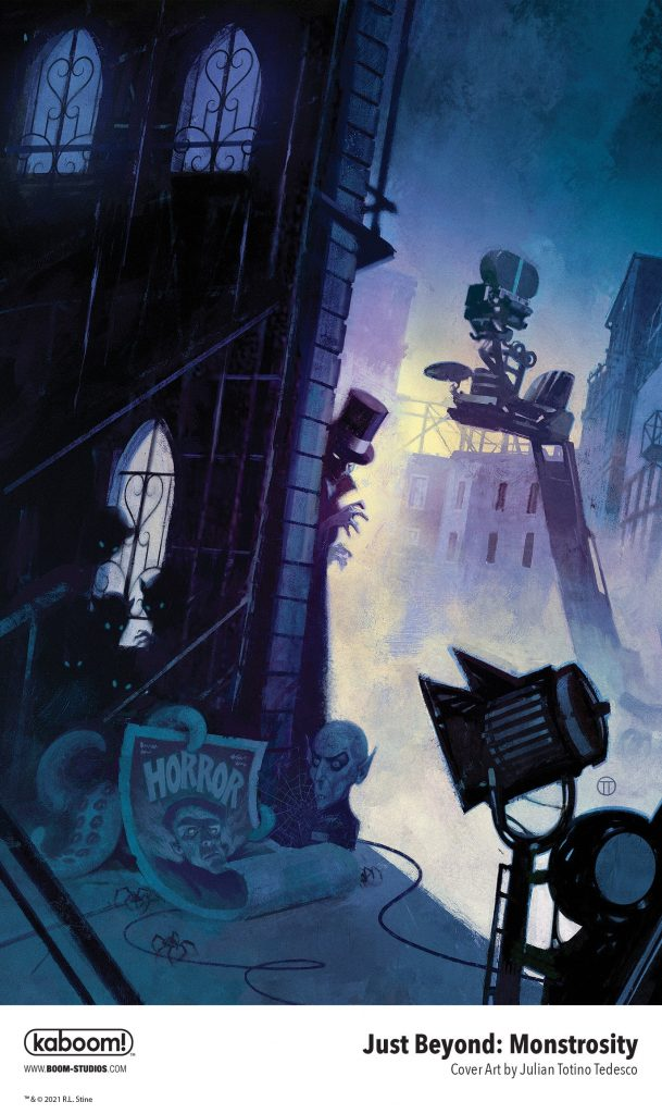 , Movie Studio Secrets in R.L. Stine's JUST BEYOND: MONSTROSITY, The Indie Comix Dispatch