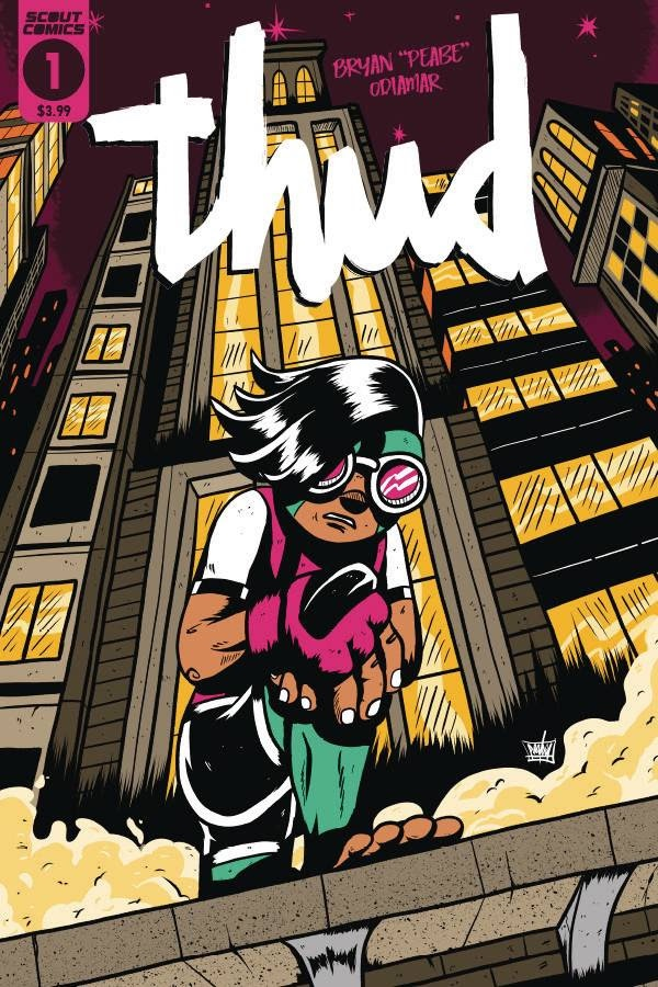 , THUD Hits Comic Shops This November From Scout Comics!, The Indie Comix Dispatch
