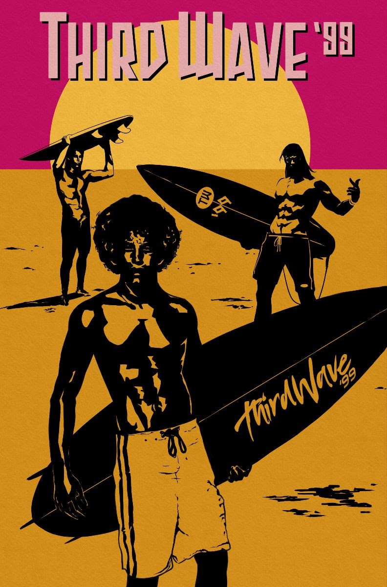 , 90's Surf Clothing Company THIRD WAVE 99 Returns This November With New Comic Series & Clothing Line, The Indie Comix Dispatch