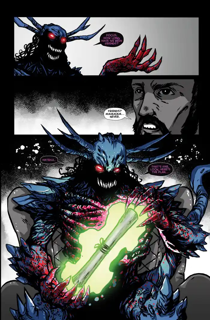 , What if The Prestige, Death Note and Psycho Goreman had a decadent lovechild?, The Indie Comix Dispatch
