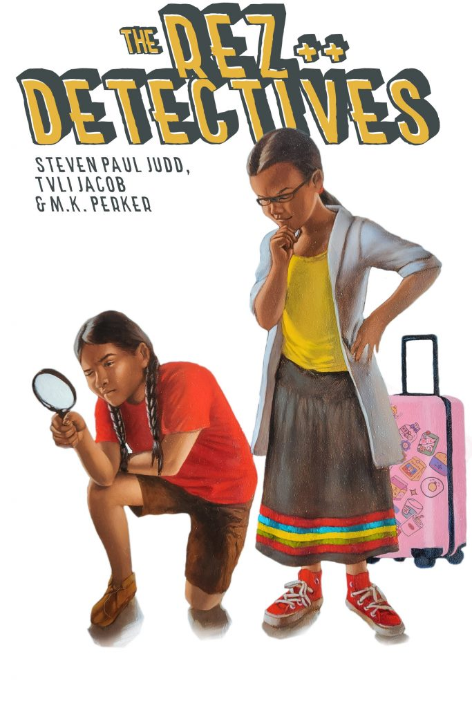 , The Rez Detectives Are on the Case!, The Indie Comix Dispatch
