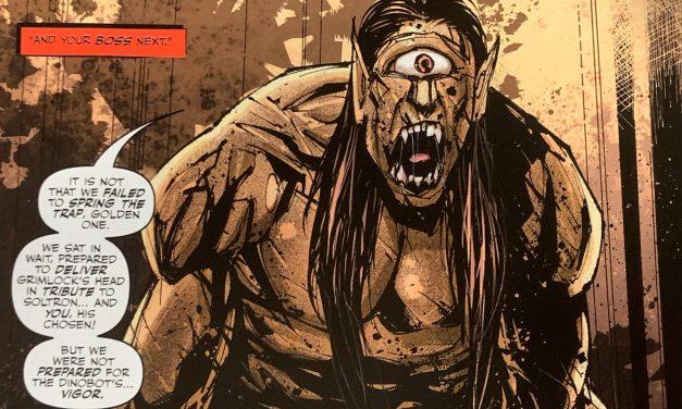 REVIEW: King Grimlock #2