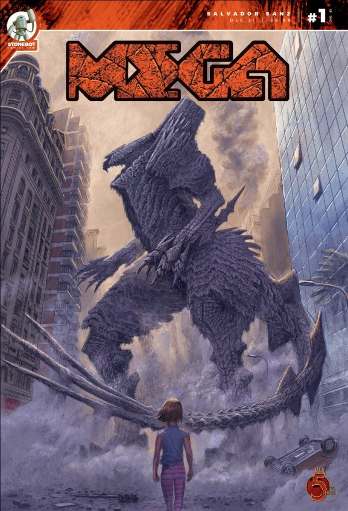 , Kaiju mayhem erupts this Christmas in MEGA, The Indie Comix Dispatch