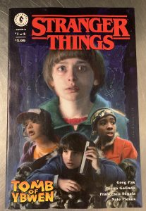 , REVIEW: Stranger Things: Tomb of Ybwen #1, The Indie Comix Dispatch