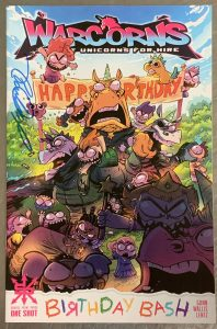 , REVIEW: Warcorns: Birthday Bash, The Indie Comix Dispatch