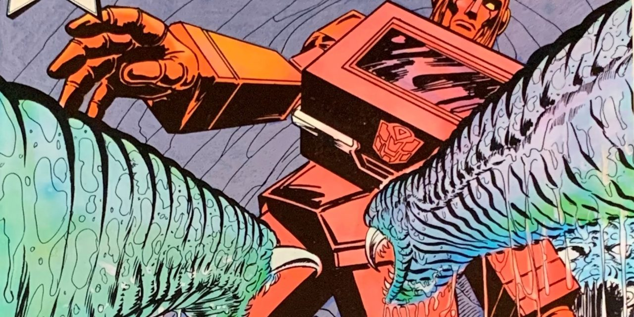 REVIEW: Transformers in 3-D #2